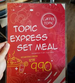 Coffee Topic @Taman Connaught