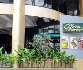 O'Briens Irish Sandwich Cafe @ Holiday Inn Express KL