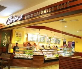 O'Briens Irish Sandwich Cafe @Menara OCBC KL