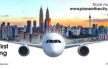 Plane In The City KL